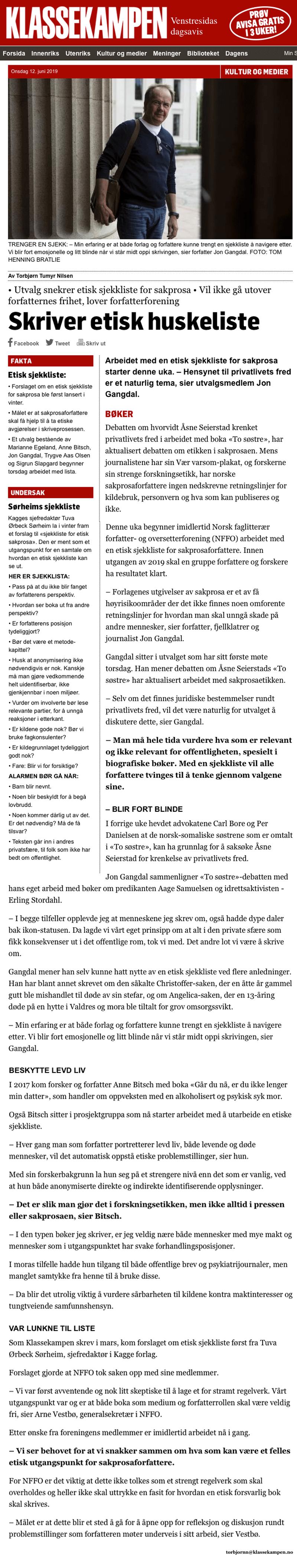 Kan ha grunnlag for å saksøke Åsne Seierstad. Alminnelig praksis. Advokat Danielsen & Co. Per Danielsen. Advokat i Oslo.