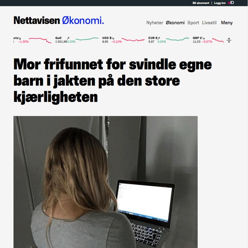 Frifunnet for å svindle egne barn. Advokat Danielsen & Co. Per Danielsen. Advokat i Oslo.