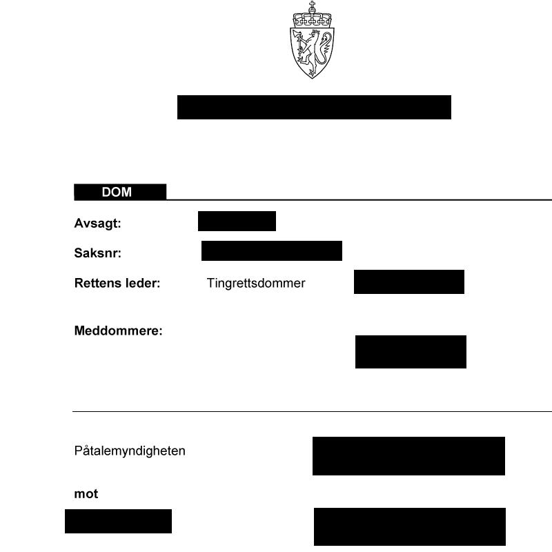 Frifinnelse i straffesak. Advokat Danielsen & Co. Per Danielsen. Advokat i Oslo.