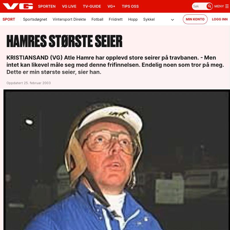 Atle Hamres største seier. Advokat Danielsen & Co. Per Danielsen. Advokat i Oslo.