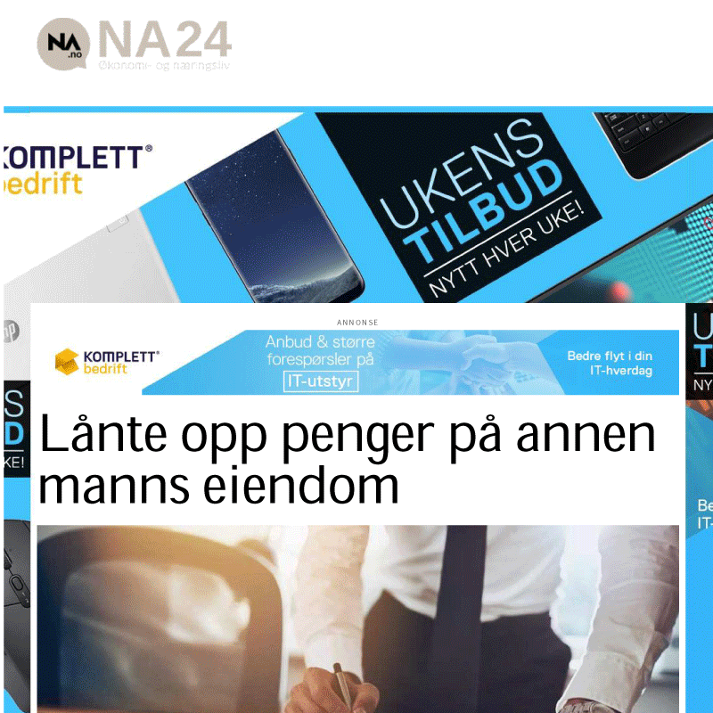 Lånte penger på annen manns navn. Advokat Danielsen. Per Danielsen. Advokat i Oslo.