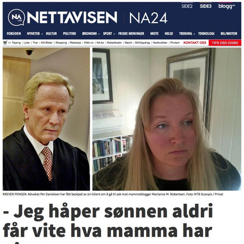 Blogginnlegg fjernet. Advokat Danielsen. Per Danielsen. Advokat i Oslo.